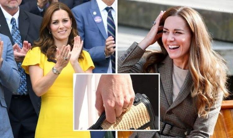 'Great for statement pieces': Kate Middleton has 'rare' emerald cut ring worth £25,000