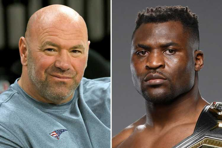 Francis Ngannou refusing to sign new UFC deal as star slams Dana White after having to 'borrow money' for training camp