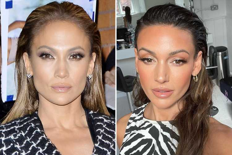 Is Michelle Keegan morphing into JLo? From rock hard abs, natural curls and show-stopping style