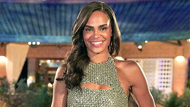Michelle Young Sparkles In Green Dress For Her 1st Night On The Bachelorette  Photos