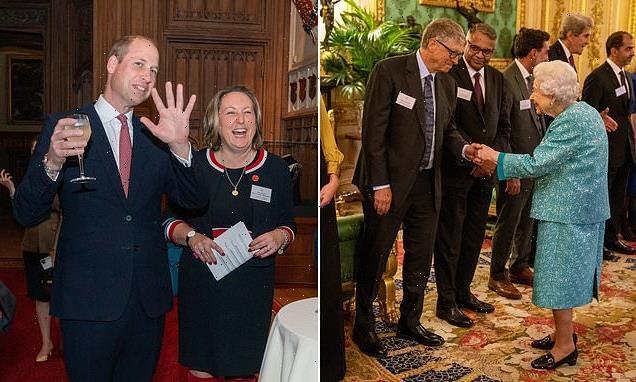 Queen welcomes billionaire business leaders to Windsor Castle
